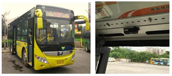 天津滨海公交客流统计系统